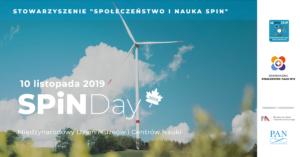 Stowarzyszenie Społeczeństwo i Nauka SPiN zaprasza na SPiN Day 2019